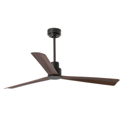 NASSAU Ventilador de techo marrón con motor DC