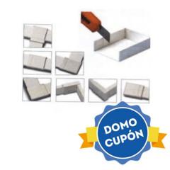 Accesorios canaleta conexión universal 7 usos DUOLEC 16x16 Color Blanco
