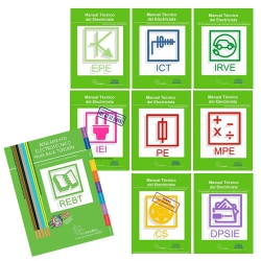 Super PACK Manuales Técnicos para Electricistas