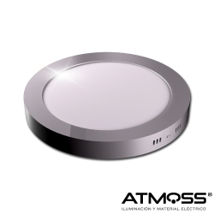 Downlight redondo de superficie 18W Atmoss Elyos Series