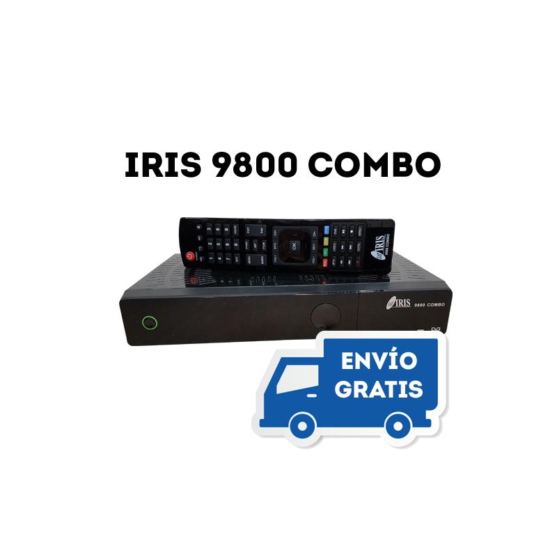 Nuevo Receptor Satélite Iris 9800 Combo