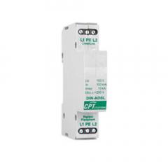 DPS Dispositivo protector de sobretensiones transitorias ADSL telefonía