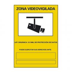 Cartel Vídeo Vigilancia