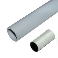 Tubo PVC Rígido 20 mm + Manguito 3 metros