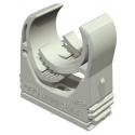 Abrazadera M-Quick ME2 (Gris) para tubos de 20 mm (50 unidades)