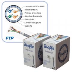 Cable FTP Cat.5E PVC