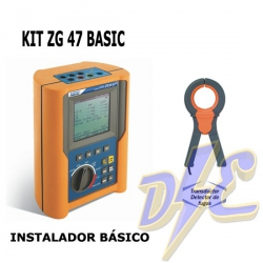 Kit ZG47 Basic - Instalador básico