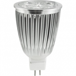 Lámpara de 4 LEDs ultrabrillo 12V 9W