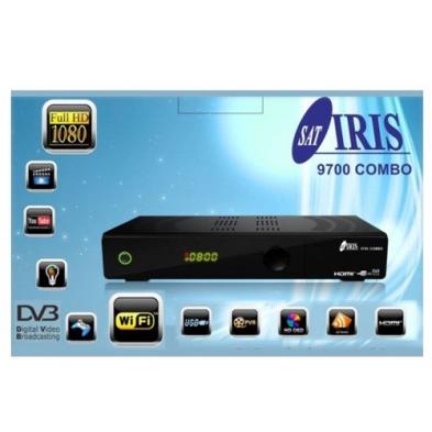 Nuevo Receptor de Satélite Iris 9700 HD Combo - Envío Gratis
