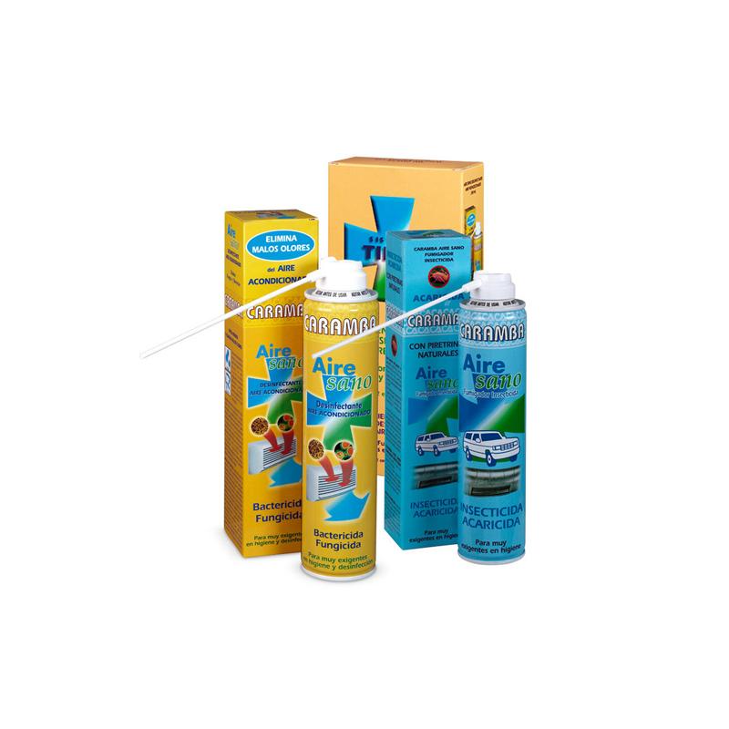 Producto desinfectante para aire acondicionado - Sistema Tidas