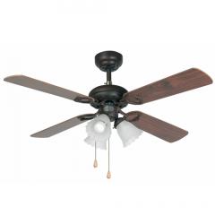 LISBOA Ventilador de techo marrón