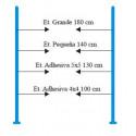 Sistema Antihurto - modelo Gotic 200 metacrilato 2 antenas