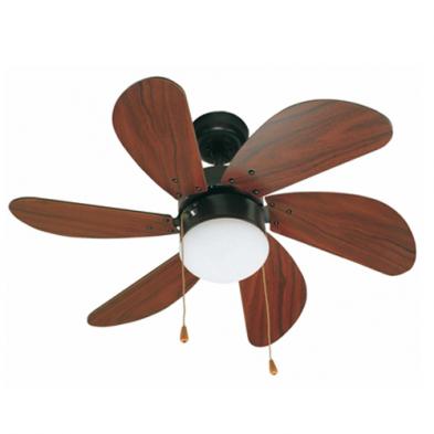 PALAO Ventilador de techo marrón