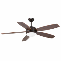 VANU Ventilador de techo marrón