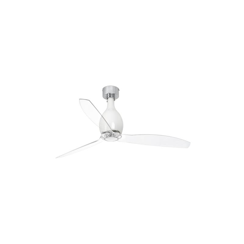 Mini eterfan ventilador de techo blanco brillo - Motores de ventiladores de techo ...