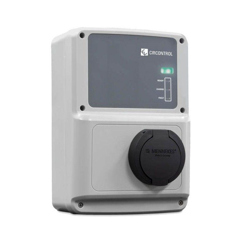 Wallbox Modo 3 Conector Mennekes 16 Amp. 230V.