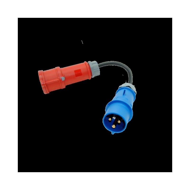 Adaptador Cetac (1F+N+TT) 32 - EV Portable MENNEKES