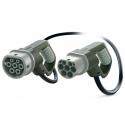Cable IEC 62196 Macho - Hembra (Cable Mennekes - Mennekes)