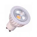 Lámpara LED COB. Regulable 6W GU10 - cálida.