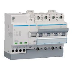 Protección combinada contra sobretensiones permanentes y transitorias 4P 6kA C40A 7M MZ440N