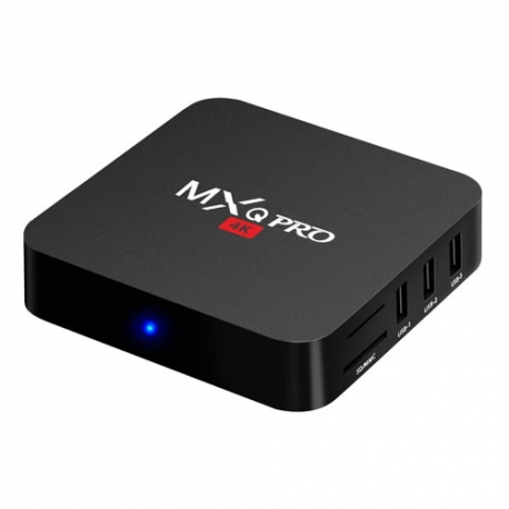 Kit Bqeel - MXQ Pro Android TV + Mando Rii Mini i8