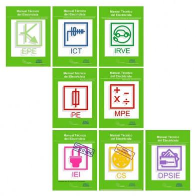 Pack Manuales Técnicos para Electricistas