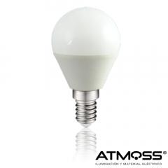 Bombilla miniesférica LED Atmoss Ampera Series E14 6W