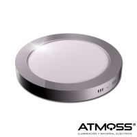 Downlight redondo de superficie 18W Atmoss Elyos Series