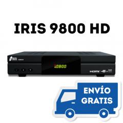 Nuevo Receptor Iris 9800 HD (Envío gratis)