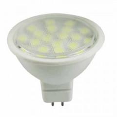 Bombilla dicroica 24 LEDs 4,6W SMD - Fría