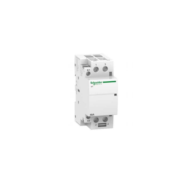 Contactor modular iCT 2P 2NO 40 A 220-240 V CA