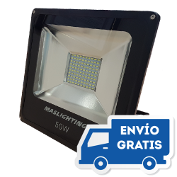 Proyector LED 50W 4800 Lumens IP66 de Maslighting LED