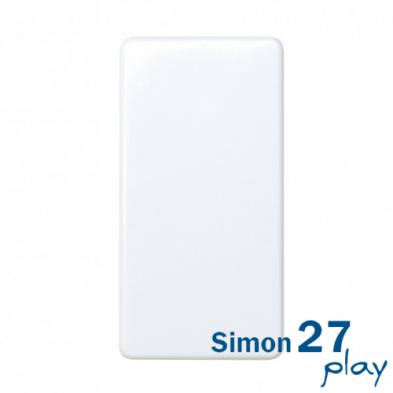 Conmutador estrecho Serie Simon 27 Play (Blanco)