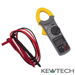 Polímetro con pinza amperimétrica Kewtech KT200 Manuel Amate