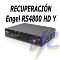 Recuperación del receptor Engel 4800Y HD por bloqueo, ASH, fallo USB, fallo WIFI