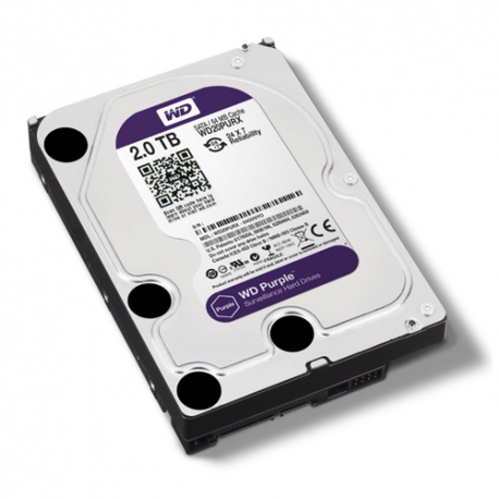 Disco Duro CCTV (WD Purple) 2 TB SATA