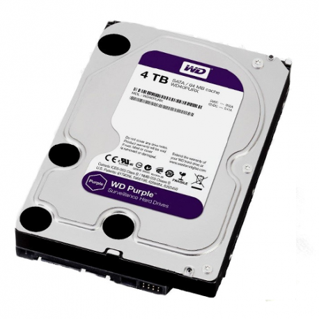 Disco Duro CCTV (WD Purple) 4 TB SATA