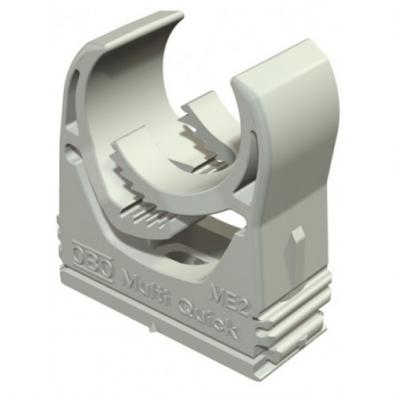Abrazadera M-Quick ME2 (Gris) para tubos de 20 mm