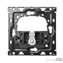 Kit back para 1 elemento con 1 conmutador pulsante | Simon 100