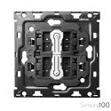 Kit back para 1 elemento con 2 conmutadores pulsantes | Simon 100