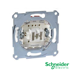 Interruptor Bipolar 10AX 250V Schneider Modelos Elegance y Artec