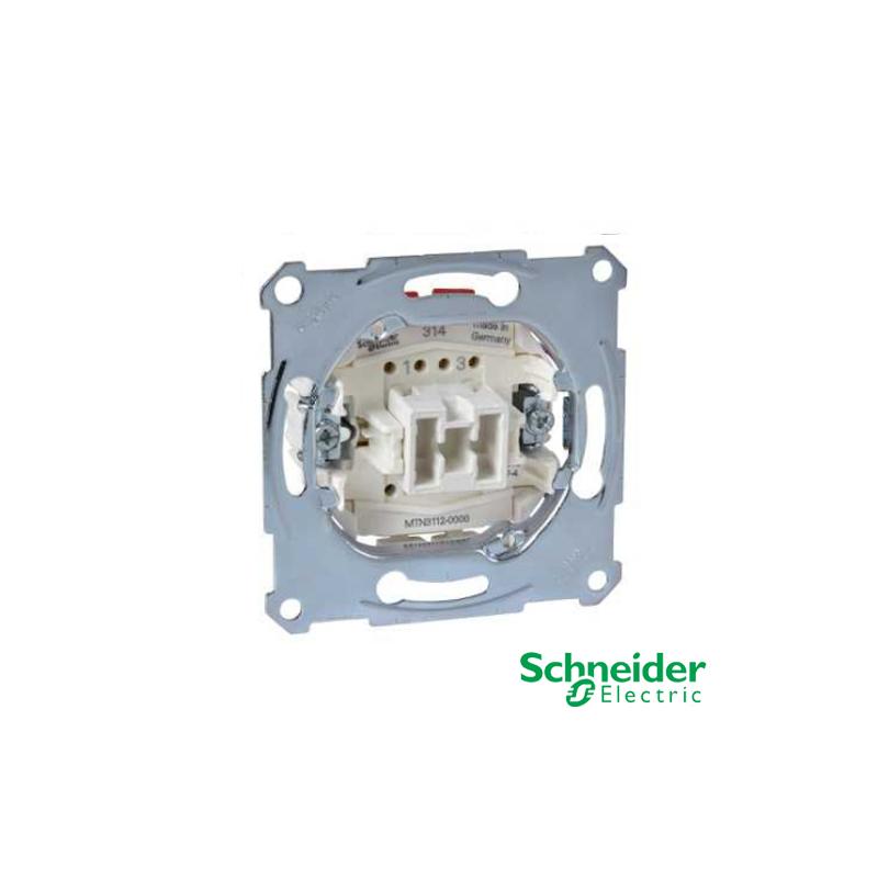 Interruptor Bipolar 10AX 250V Schneider para modelos Elegance y Artec