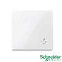 Tecla símbolo luz Schneider Serie Elegance Blanco activo
