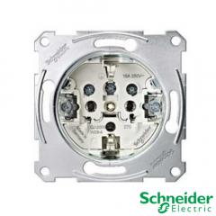 Mecanismo enchufe Schneider Serie Elegance y Artec conexión por tornillo.