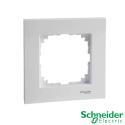 Marco 1 elemento Schneider Serie Elegance Blanco Alpino