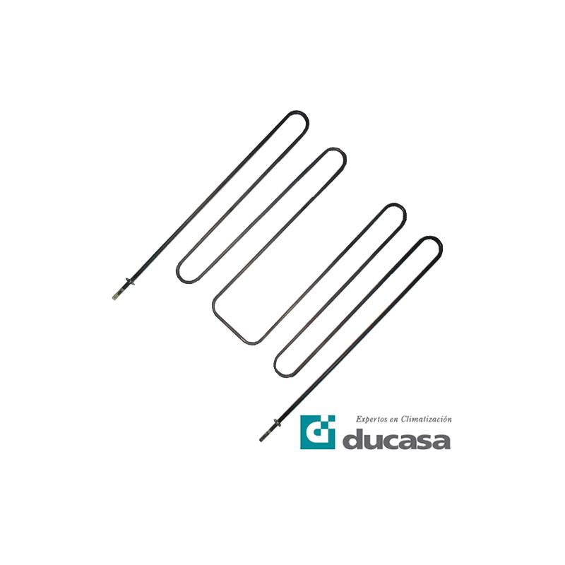 Resistencia Acumulador Estático Ducasa 1700-950W S-8 patas metálicas A y M 817 826 834