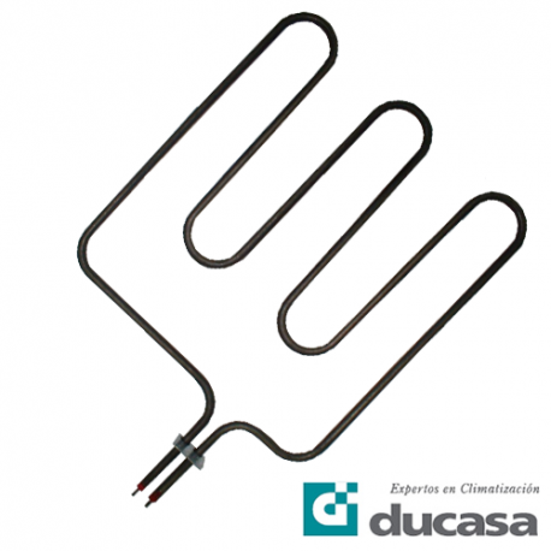 Resistencia Acumulador Estático Ducasa 1250-628W 8-14 horas S-8 patas de plástico modelos M-813 A-822