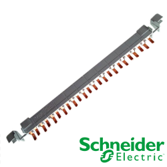 Peine de Conexión Schneider Electric Clario 1P+N 80A 432 mm 24 módulos