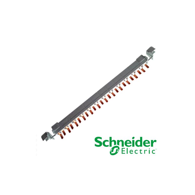 Peine de Conexión Schneider Electric Clario 1P+N 80A 80A