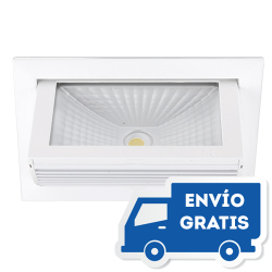 Downlight LED Basculante Empotrable en aluminio NEXIA